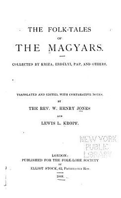 The Folk tales of the Magyars PDF