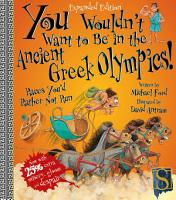 You Wouldn t Want to Be in the Ancient Greek Olympics  PDF