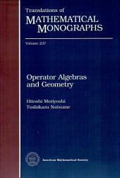 Operator Algebras and Geometry
