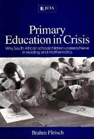 Primary Education in Crisis PDF