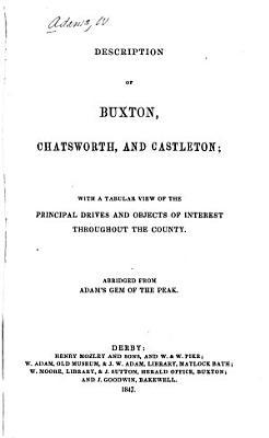 Description of Buxton  Chatsworth  and Castleton PDF