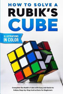 How To Solve A Rubik s Cube PDF