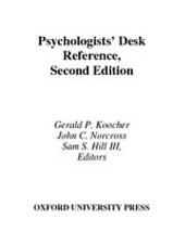 Psychologists' Desk Reference: Edition 2