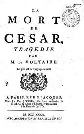 La mort de César, tragédie: Volume 5