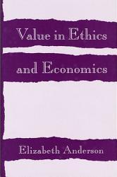 Value In Ethics And Economics Book PDF
