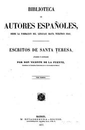 Escritos de Santa Teresa: Volumen 1