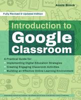 Introduction to Google Classroom PDF