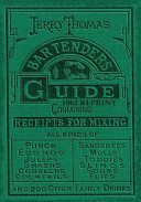 Jerry Thomas Bartenders Guide 1862