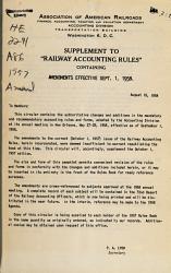 Railway Accounting Rules PDF