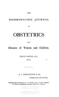 Homoeopathic Journal of Obstetrics  Gynaecology and Paedology PDF