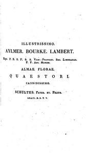Mantissa in volumen primum-[tertium] systematis vegetabilium Caroli a Linné: ex editione Joan. Jac. Roemer ... et Jos. Aug. Schultes, Volume 3