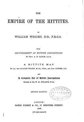 The Empire of the Hittites PDF