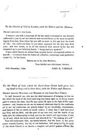 "Two pastoral letters ""to the Flock of God, which the Lord Jesus Christ hath given into my hand."" Edited by J. B. Cardale"