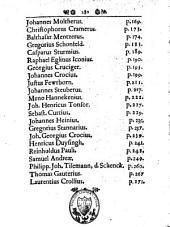 Vitae professorum theologiae, qui in illustri academia marburgensi docuerunt