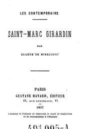 Saint-Marc Girardin