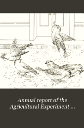 Annual Report of the Agricultural Experiment Station of the University of Minnesota: Issues 77-82