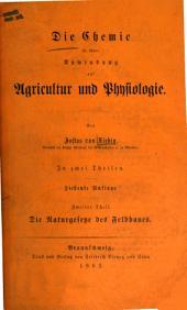 T. Die Naturgesetze des Feldbaues