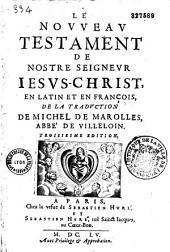 Le Nouveau Testament, traduit en français avec le latin en regard