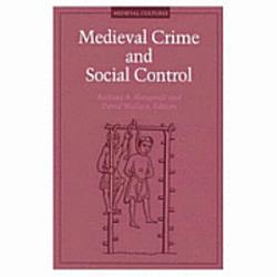 Medieval Crime And Social Control Book PDF