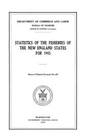 Statistics of the Fisheries of the New England States for 1905