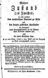 Coup-D'oeil oder Blick auf den Emser Congreß mit Voraussetzung des wahren Zustandes [et]c. und dessen Anhänge: Aus dem Französischen übersetzt