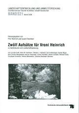 Zw  lf Aufs  tze f  r Vroni Heinrich zu Gartenkunst und Landschaftsplanung PDF