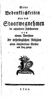 Gesammelte Schriften unserer Zeiten zur Vertheidigung der Religion und Wahrheit: Band 9