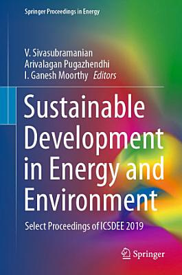 Sustainable Development in Energy and Environment PDF