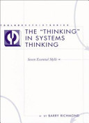The  thinking  in Systems Thinking