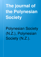 The Journal of the Polynesian Society: Volume 10