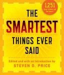 Smartest Things Ever Said New PDF