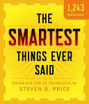 Smartest Things Ever Said New