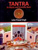 Tantra  Its Mystic and Scientific Basis PDF
