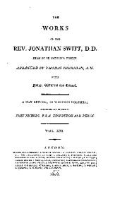 The works of the Rev. Jonathan Swift ...
