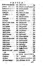 Concetti di Hieronimo Garimberto et altri degni autori ; Raccolti da lui per scrivere, et ragionar familiarmente ; Con nuova aggiunta a suoi luoghi