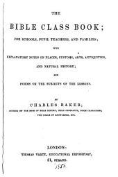 The Bible class book