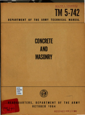 Concrete and Masonry PDF