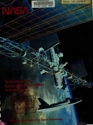 Technology for Space Station Evolution  Volume 4  Power Systems Propulsion Robotics