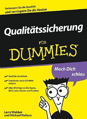 Qualitatssicherung fur Dummies PDF