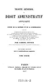 Traite General de Droit Administratif