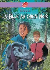 La fille au chien noir