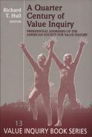 A Quarter Century of Value Inquiry PDF