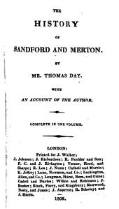 The history of Sandford and Merton [by T. Day].
