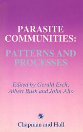 Parasite Communities: Patterns and Processes
