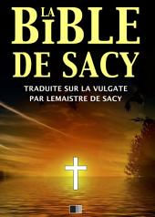 La Bible de Sacy
