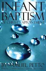Infant Baptism of Christ's Appointment