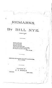 Remarks by Bill Nye