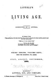 Littell's Living Age: Volume 82