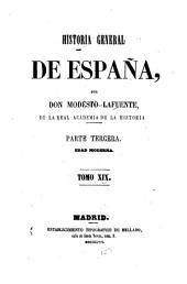 Historia general de España: Volumen 19