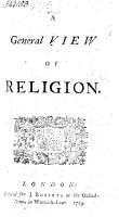 A General View of Religion PDF